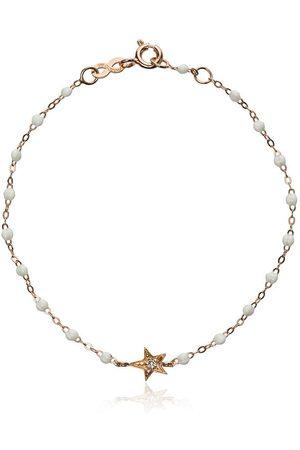 GIGI CLOZEAU White RG star diamond and rose gold bracelet