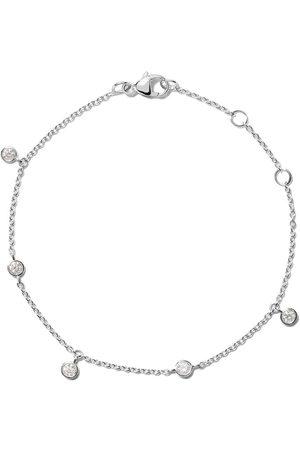 De Beers 18kt white gold My First five diamond bracelet
