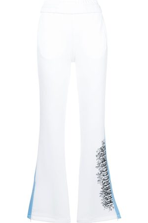 OFF-WHITE Stripe detail track pants