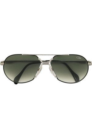Cazal Tinted aviator frame sunglasses