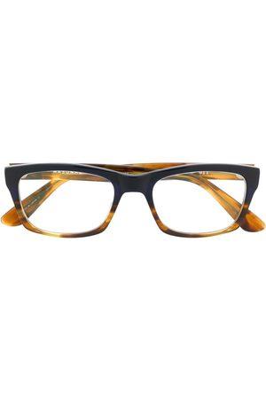 MASUNAGA Rectangle frame glasses