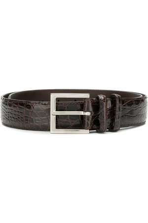 Orciani Textured buckled belt