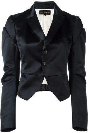 Comme des Garçons Ženy Saka - Satin tuxedo jacket