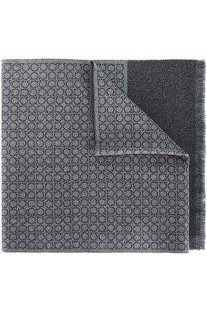 Salvatore Ferragamo Interlocked Gancini scarf