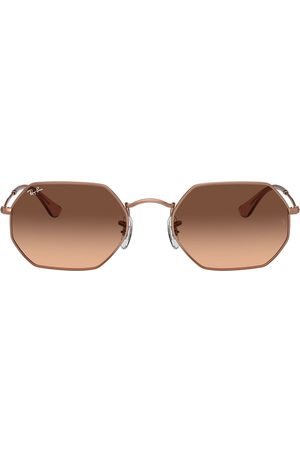 Ray-Ban RB3556N octagonal sunglasses