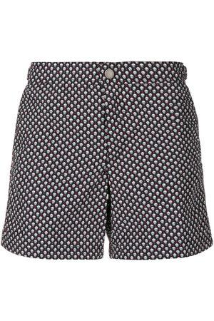 Alexander McQueen Micro skulls swim shorts