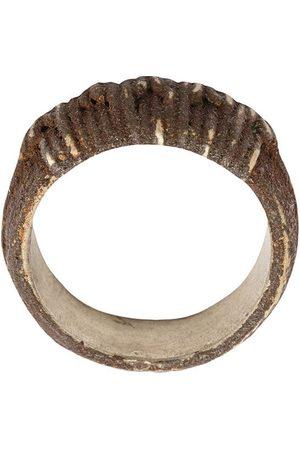 TOBIAS WISTISEN Muži Prstýnky - Ridged ring