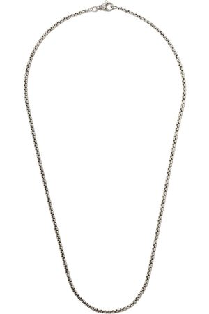 "David Yurman 24"" length small Box Chain necklace"