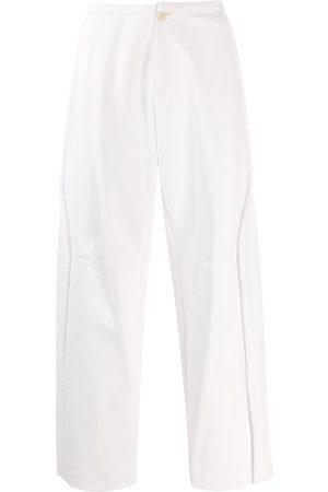 WALTER VAN BEIRENDONCK Muži Kožené kalhoty - 2009/10 Glow faux leather trousers