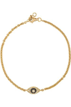 ALINKA Ženy Náramky - Evil Eye 18kt gold and diamond bracelet