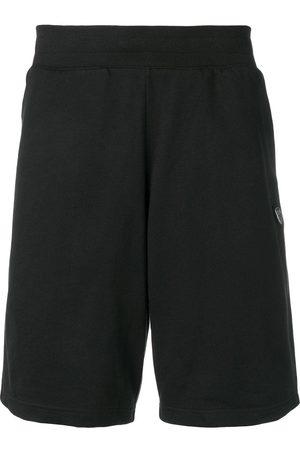 EA7 Logo plaque shorts