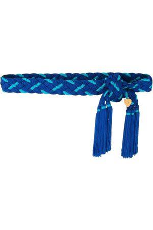 Yves Saint Laurent 1980's woven belt