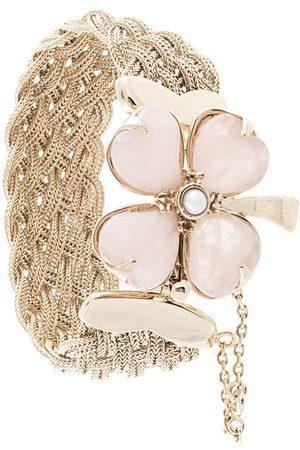 Goossens Trèfle braided bracelet
