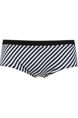 AMIR SLAMA Striped swim briefs
