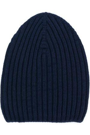 Barrie Ženy Čepice - Ribbed-knit cashmere beanie