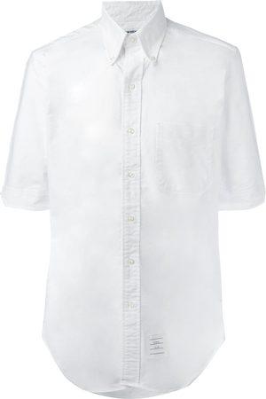 Thom Browne Muži Košile - Chest pocket shirt