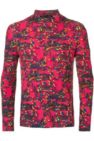 Comme des Garçons Muži Ke krku - High neck textured jumper