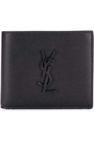 Saint Laurent Monogram grained leather wallet