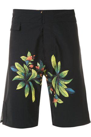 AMIR SLAMA Muži Šortky - Printed shorts
