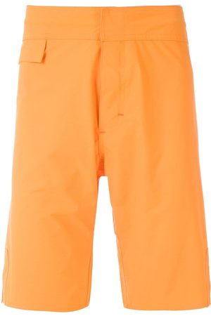 AMIR SLAMA Plain swim shorts