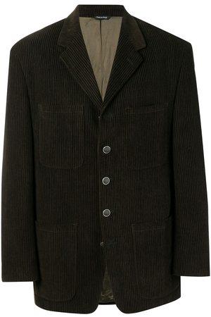 VERSACE 1970's plaid blazer