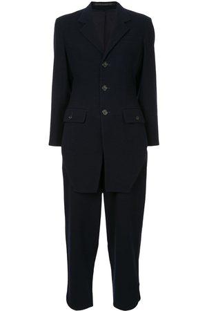 YOHJI YAMAMOTO Front tail two-piece suit