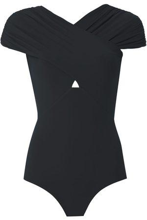 AMIR SLAMA Open back body blouse