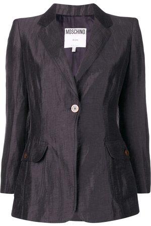 Moschino Single button blazer
