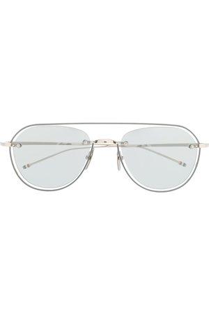 Thom Browne Sluneční brýle - Aviator sunglasses