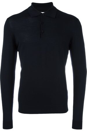 Fashion Clinic Long sleeved knitted polo shirt