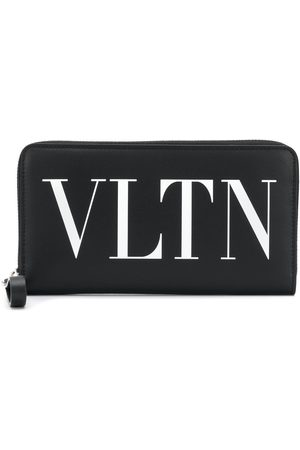 VALENTINO Garavani VLTN zip around continental wallet