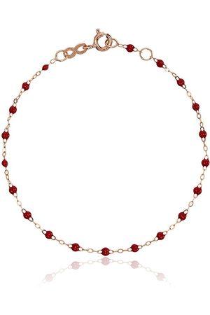 GIGI CLOZEAU Red RG bead rose gold bracelet