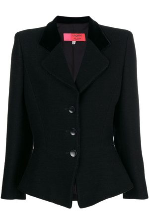 Emanuel Ungaro Pre-Owned 1990's fitted buttoned jacket