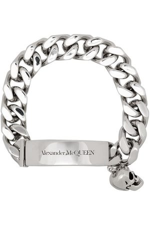 Alexander McQueen Skull-charm chain-link bracelet