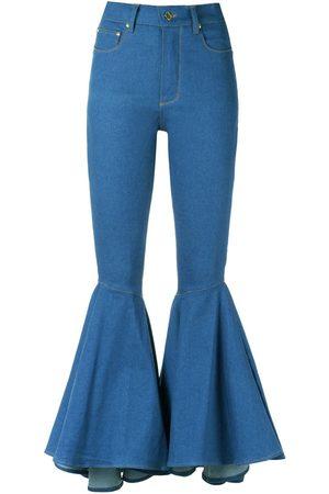 Amapô Ženy Bootcut - Flared jeans