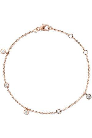 De Beers 18kt rose gold My First five diamond bracelet