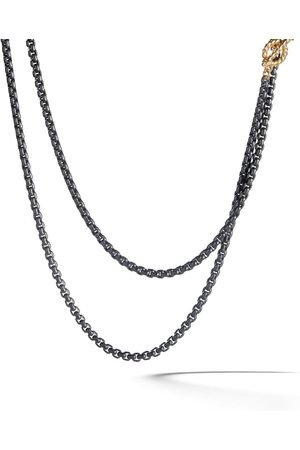 David Yurman Ženy Náramky - 14kt yellow gold and coloured steel DY Bel Aire necklace