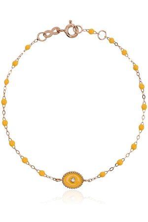 GIGI CLOZEAU Yellow RG diamond and rose gold bracelet