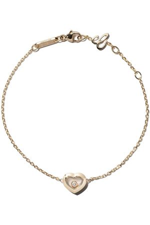 Chopard 18kt yellow gold Happy Diamonds Icons bracelet