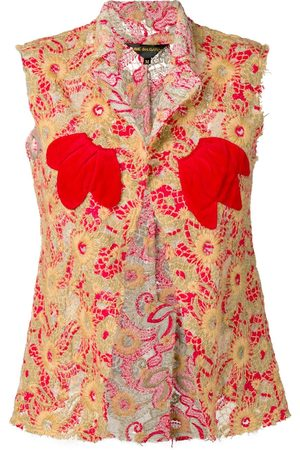 Comme des Garçons 2003's embroidered waistcoat