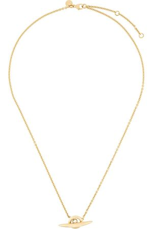 SHAUN LEANE Arc toggle bar necklace