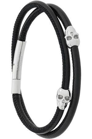 NORTHSKULL Muži Náramky - Skull wrap bracelet