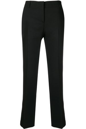Quelle2 Straight leg tailored trousers