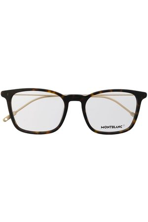 Mont Blanc Square frame glasses