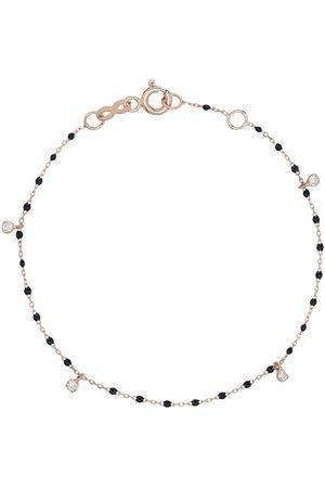 GIGI CLOZEAU 18kt gold diamond beaded bracelet