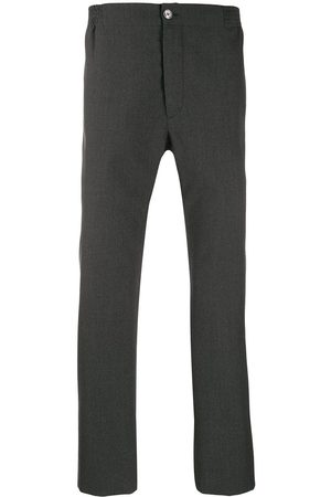 Gucci Mid-rise straight leg trousers