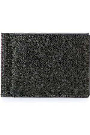 Thom Browne Muži Peněženky - Money Clip Wallet In Black Pebble Grain