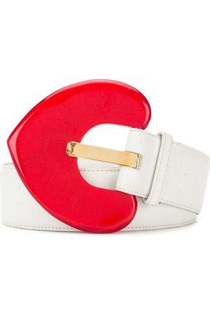 Yves Saint Laurent Heart belt