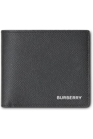 Burberry Grainy Leather International Bifold Coin Wallet
