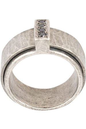 TOBIAS WISTISEN Diamond embellished ring